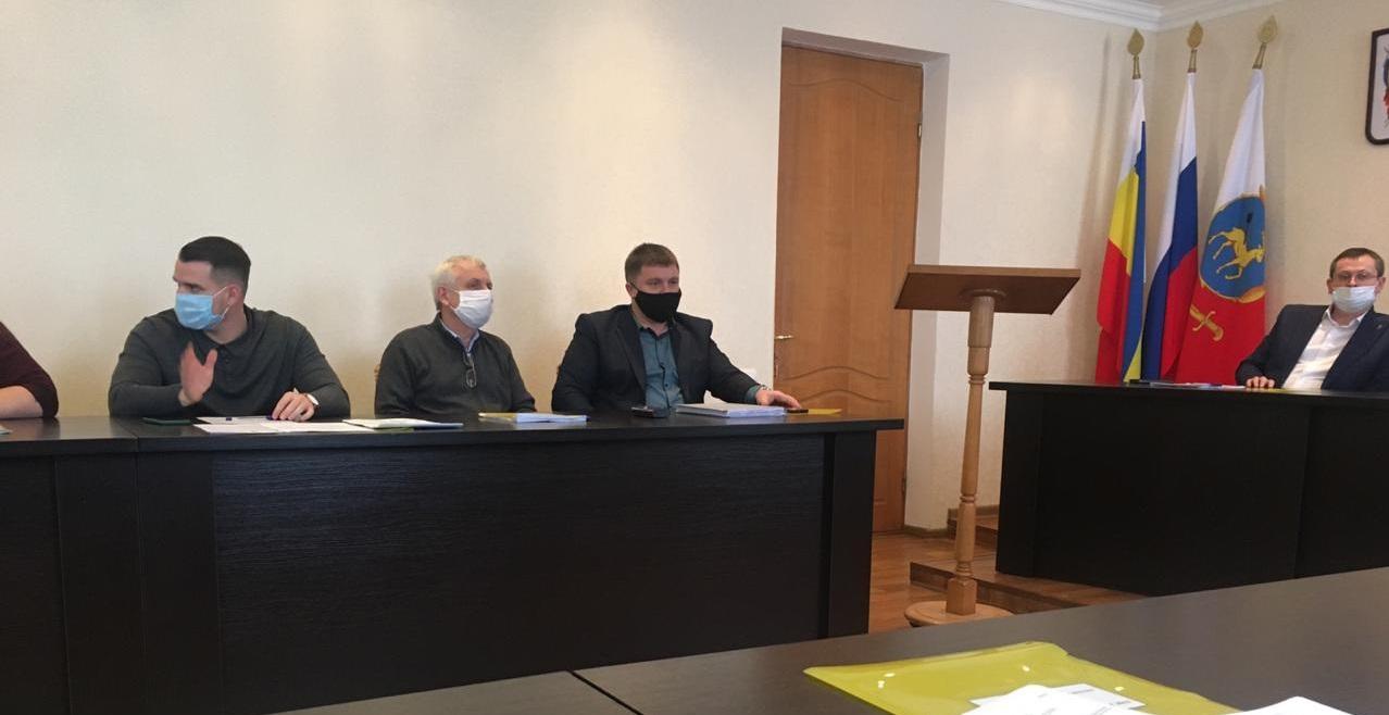 В Администрации города состоялось пленарное заседание Каменск-Шахтинской городской Думы