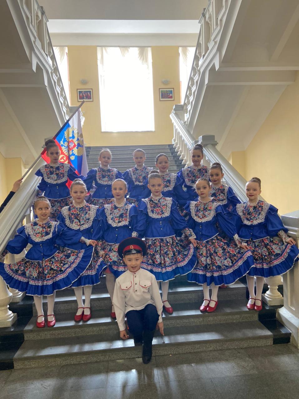 Образцовый хореографический коллектив «Гранд Па» принял участие в международном фестивале «Казачья душа»