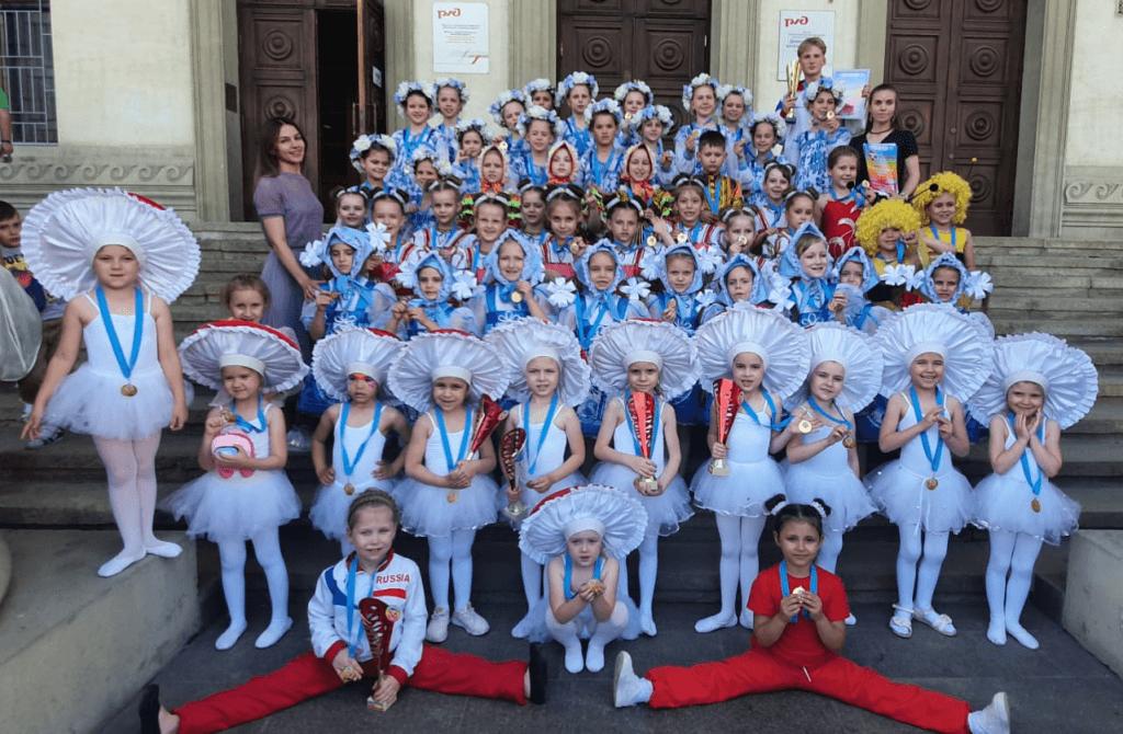 Каменские танцоры из «Офелии» стали призёрами международного конкурса