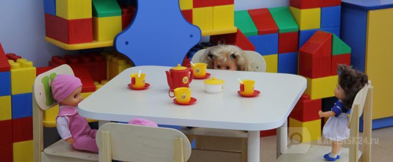 В Каменске завершилось основное комплектование детских садов