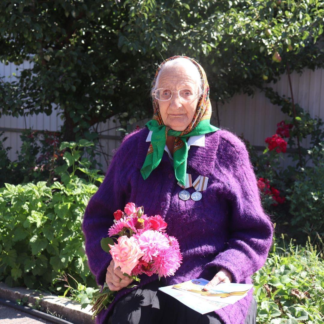 Труженица тыла Мария Ефимовна Кураева отметила 90-летний юбилей