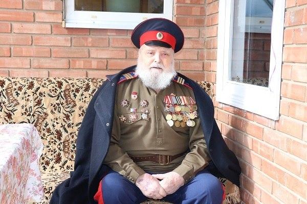 Участнику штурма Берлина Михаилу Даниловичу Краснову исполнилось 95 лет
