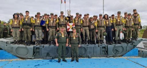Военнослужащие 11 инженерной бригады стали победителями финала АРМИ-2021