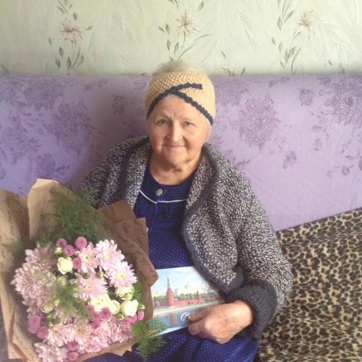 Каменчанка  Любовь Васильевна Птицына отметила своё 90-летие!