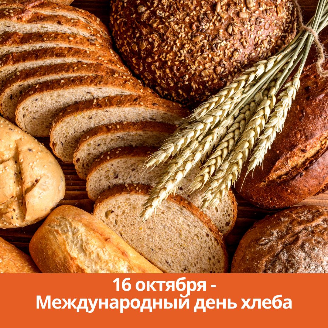 16 октября — Международный день хлеба