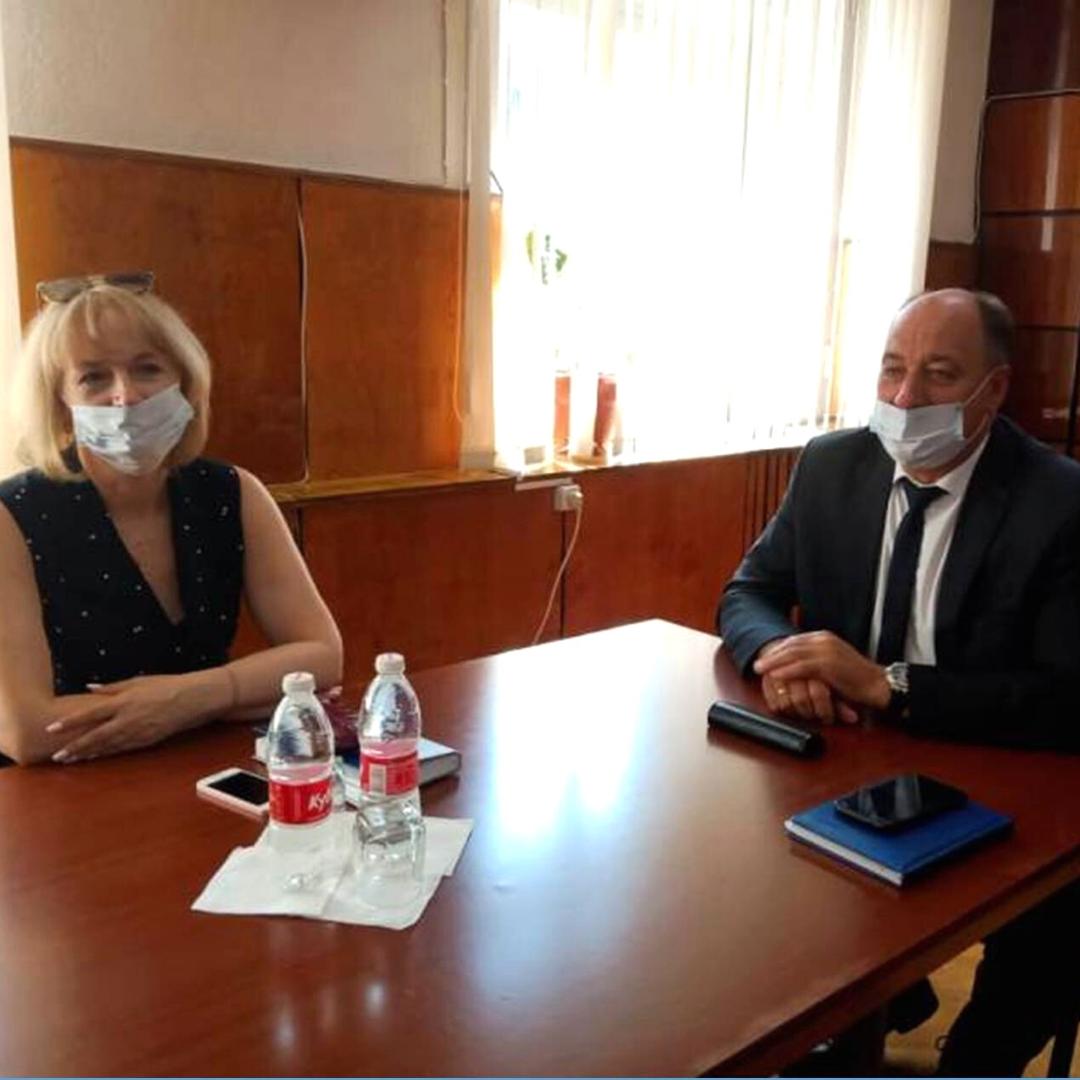 Глава администрации Каменска встретился с представителями диаспор
