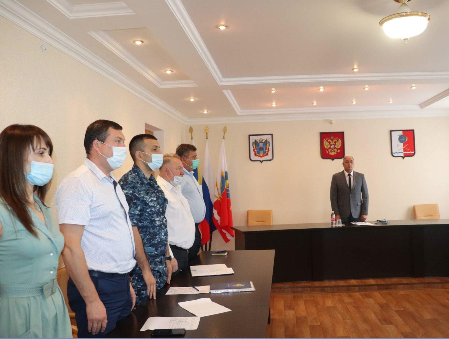 Глава Администрации города Каменска-Шахтинского Владимир Шевченко провёл планёрное совещание