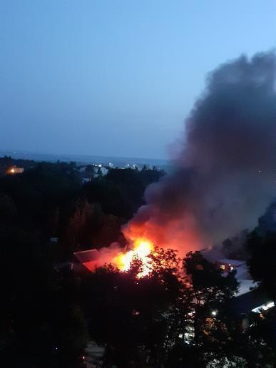 В Каменске произошел пожар в частном доме