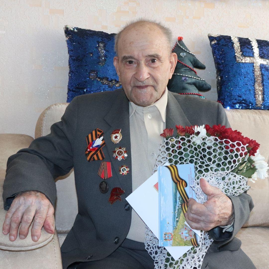 Участник Великой Отечественной войны Иван Григорьевич  Камбулов отметил юбилей!