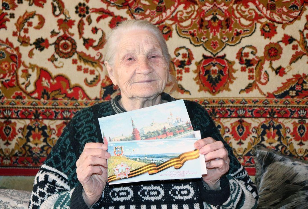 Труженик тыла Татьяна Ивановна Новикова отметила 90-летие!